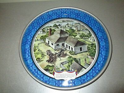 """Vintage Beer Tray 1976 Pabst Blue Ribbon Bicentennial Small Ding 13"""""""