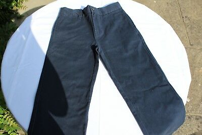 Used Polo by Ralph Lauren Navy Blue Chino Trousers, Size 8US (6-7 years UK)
