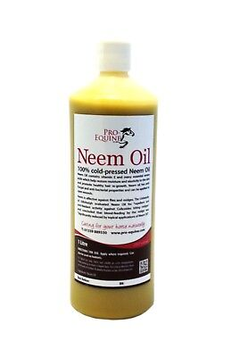 Sweet Itch Horses Pure Neem 1000Ml Fast Hair Re-Growth And Itch Relief