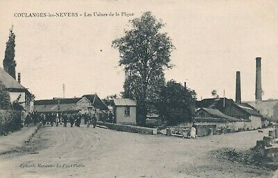 CPA - France - (58) Nièvre - Coulanges-les-Nevers - Les Usines