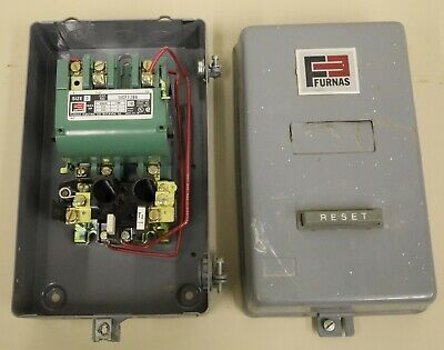 Furnas 17DP92BF11 Three Phase Combination Magnetic Starter Size 1 Fast Shipping