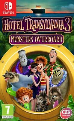 Hotel Transylvania 3 Monsters Overboard (Nintendo Switch) New & Sealed UK PAL