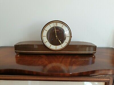 Junghans Westminster Chime Clock Art Deco