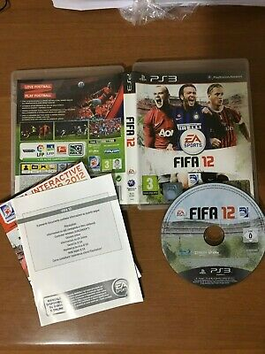 FIFA 12 ps3 originale playstation 3 gioco giochi ITALIANO