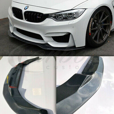 BMW M3/M4 Carbon Fibre PSM Style Single Front Lip Splitter BMW M3 F80/M4 F82 F83