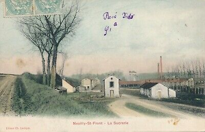 CPA - France - (02) Aisne - Neuilly-St-Front - La Sucrerie