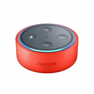 Echo Dot Kids Edition, a smart speaker with Alexa for kids in Punch Red