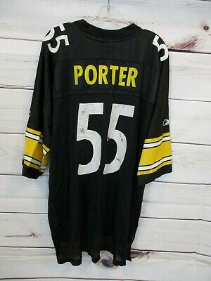 3635bf78b60 REEBOK NFL PITTSBURGH Steelers HEATH MILLER Throwback Jersey Youth M ...