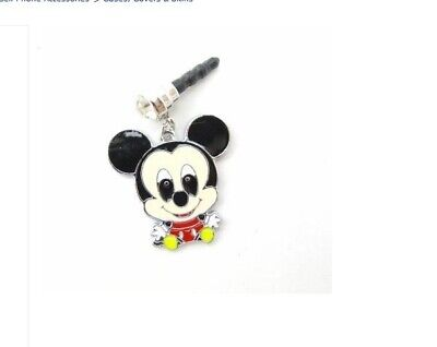 Baby Mickey Mouse Cell phone dust cover Plug