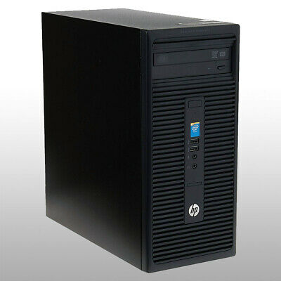 HP 280 G1 Core i3-4160 3.00GHz 4GB RAM 500GB HDD Windows 10 PC
