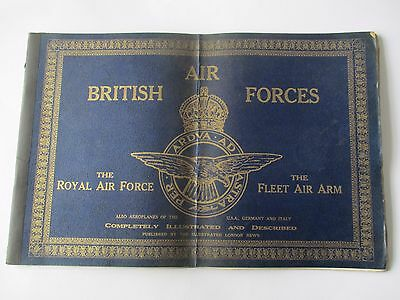 British Air Forces - Booklet By  Illustrated London News - 1941
