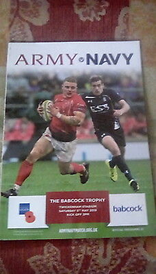 Rugby Army v Navy Official Programme Twickenham Stadium 5th May 2018