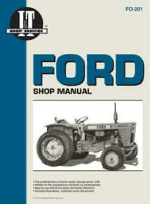 I&T Tractor Service Manual Ford Fordson Dexta Commander Petrol Diesel Major
