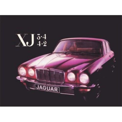 Jaguar XJ6 3.4 & 4.2 Series 2 Handbook Owners Manual 4 Door Saloon
