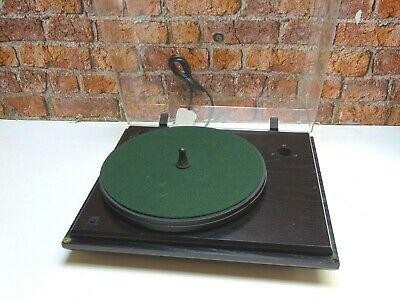 Revolver 2 Speed Belt Drive Vintage Record Turntable (NO TONEARM, TATTY LID)