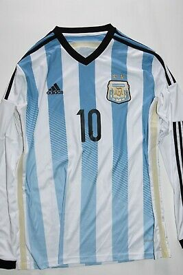 397e026ed ADIDAS ARGENTINA HOME Jersey Lionel Messi 10 Long Sleeve -  53.99 ...