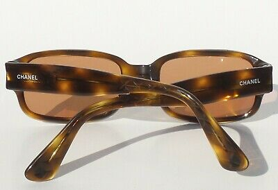 23f240d5e4f4 CHANEL Vintage 5010 502/93 Brown Gold Tortoise Quilted Arm CC Sunglasses  Frames