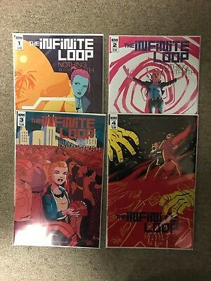 Charritier B Cvrs Nothing But the Truth #1-4 COMPLETE SET IDW Infinite Loop
