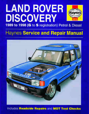 Haynes Workshop Manual Land Rover Discovery 1989-1998 New Service Repair