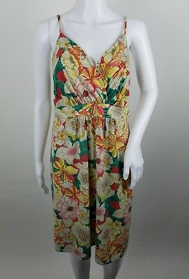 MAURICES WOMENS DRESS Plus Size 0X Floral Spaghetti Strap ...