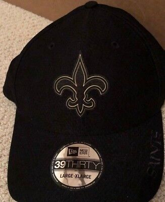 online store 28293 ffac1 New Era New Orleans Saints 2018 NFL Training Camp Primary 39THIRTY Hat Cap