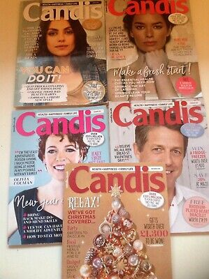 Candis Magazines- 5 Issues - Dec 2018- April'19 - Health:Happiness:Family Life
