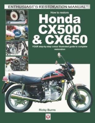 How to restore Honda CX500 & CX650 – Step-by-Step Restoration Manual Rebuild