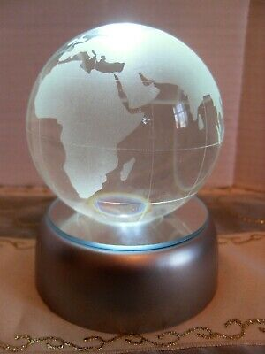 ANTIQUE ETCHED GLASS Paperweight Arnold & Sons Surgical