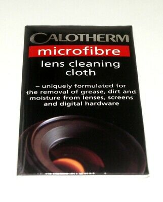 Calotherm Microfiber lens cleaning cloth.