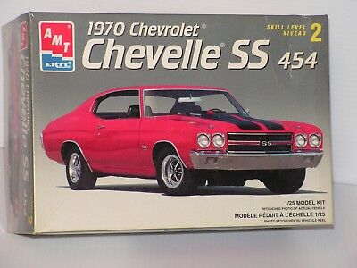 Amt #8940 1/25 1970 Chevy Chevelle Ss 454 Open