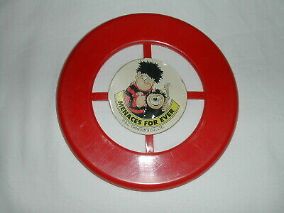 Dennis The Menace Beano Frisbee 1990's Comic Cover Mount