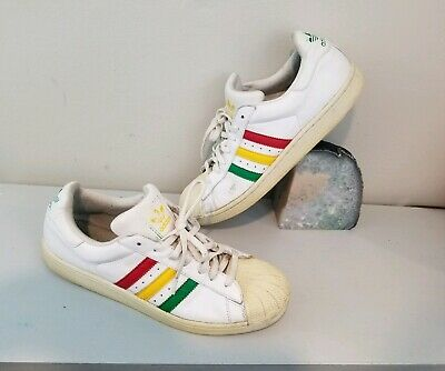 8feae9ee1a2d0 VINTAGE ADIDAS MENS Rasta Multi Colored Suede Shoes Sneakers ZX 750 ...