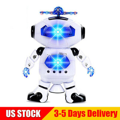 Toys For Boys Robot Kids Toddler Dancing Musical Toy Birthday Xmas Gift T2