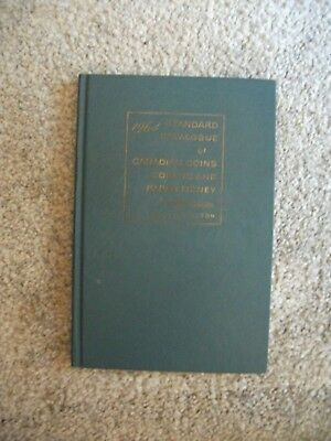 Whitman 1964 Standard Catalogue Canadian Coins Tokens Paper & Money by Charlton