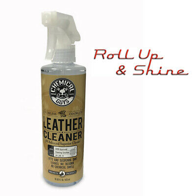 Chemical Guys Leather Cleaner 16oz PH Balanced OEM Approved 500ml