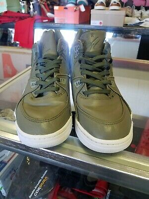 quality design 24be1 7aba7 NIKE NIKELAB AIR FLIGHT 89 LEATHER MENS SIZE US 10 EUR 45 828295-300 used