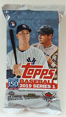 2019 Topps Series 1 HTA Jumbo 46 Card Pack MLB Autographs and Relics Available *