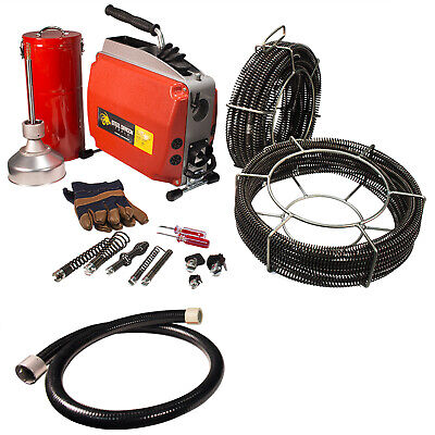 Steel Dragon Tools® K60 Sectional Drain Cleaning Machine fits RIDGID® C8 Cable