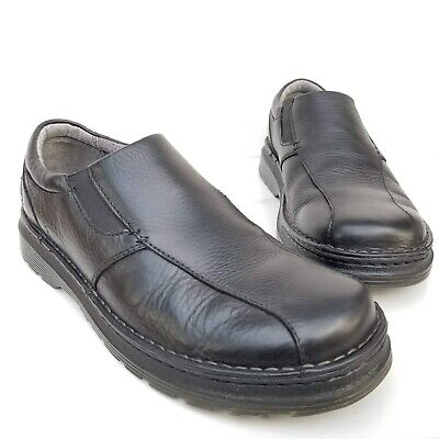 3528df7b014 MARTENS Tevin Mens Black Leather Slip On Loafers Casual Shoes Size 11 US