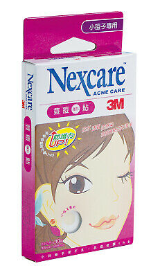 50 Pcs 3M Nexcare Acne Dressing Pimple Stickers Patch (Small)