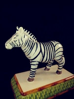"RAYMOND WAITES ZEBRA EMPIRE COLLECTION  approx. 5-1/2""  tall  FIGURINE - NEW"