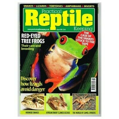 Practical Reptile Keeping August 2012 - Red-Eyed Tree Frogs Care & Breeding