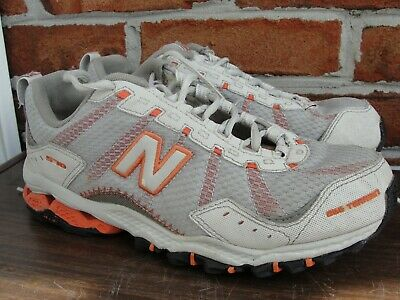 New Balance 573 Womens GreyBluePink All Terrain Trail Running Shoes Size 8