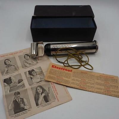 Antique Quack Medical Device Electeat Electric Shock Stimulation w/ Box