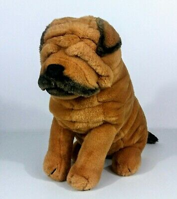Vintage Shar Pei Dog Plush Stuffed Animal Dakin 1986
