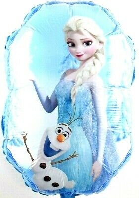 3 x R1f4 Helium Foil Balloons Frozen Elsa Princess and Olaf Birthday Gift