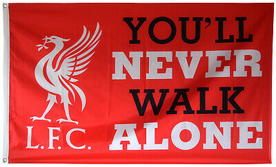 Liverpool FC You'll Never Walk Alone 3x5FT Flag Banner US shipper