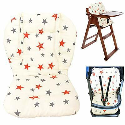 Baby Stroller High Chair Seat Cushion Liner Mat Pad Cover Protector Breathable