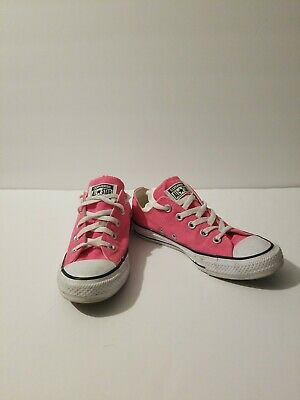 Converse All Star ~ Women's Pink Shoes Size 6 (men size 4) great condition