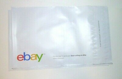 """NEW Lot of 10 eBay-Branded Polymailer Color Print 10"""" x 12.5"""" self sealing (#109"""